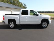 USED 2008 CHEVROLET CREW CAB 1500 LTZ 4WD 1/2 TON PICKUP TRUCK #1156-5