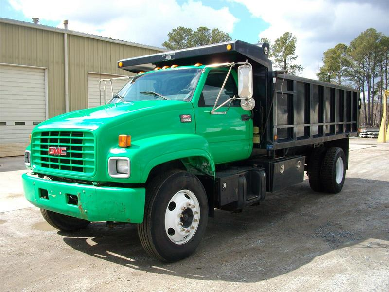 used 2000 gmc 6500 box dump truck for sale in md 1201. Black Bedroom Furniture Sets. Home Design Ideas