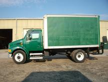 USED 2006 STERLING ACTERRA BOX VAN TRUCK #1213-6