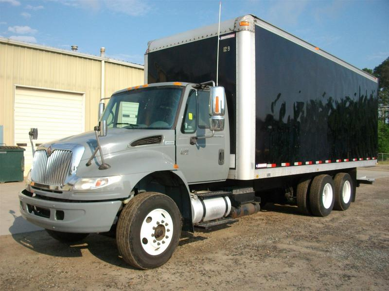 USED 2007 INTERNATIONAL 4400 BOX VAN TRUCK #1274