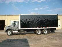 USED 2007 INTERNATIONAL 4400 BOX VAN TRUCK #1274-10