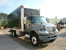 USED 2007 INTERNATIONAL 4400 BOX VAN TRUCK #1274-3