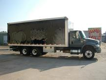 USED 2007 INTERNATIONAL 4400 BOX VAN TRUCK #1274-4