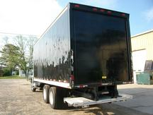 USED 2007 INTERNATIONAL 4400 BOX VAN TRUCK #1274-8