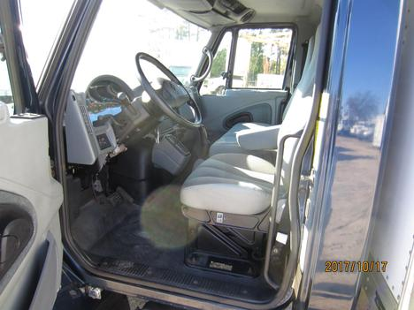 USED 2002 INTERNATIONAL 4300 BOX VAN TRUCK #1313-13