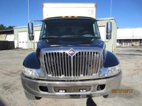 USED 2002 INTERNATIONAL 4300 BOX VAN TRUCK #1313-2