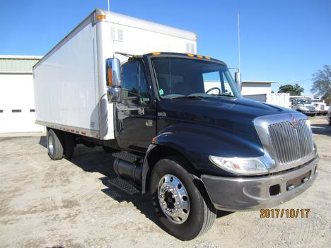 USED 2002 INTERNATIONAL 4300 BOX VAN TRUCK #1313-3