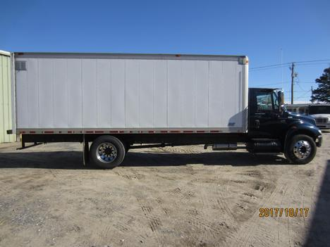 USED 2002 INTERNATIONAL 4300 BOX VAN TRUCK #1313-4