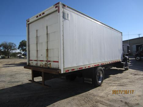 USED 2002 INTERNATIONAL 4300 BOX VAN TRUCK #1313-5
