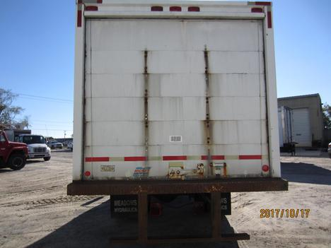 USED 2002 INTERNATIONAL 4300 BOX VAN TRUCK #1313-7