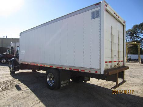 USED 2002 INTERNATIONAL 4300 BOX VAN TRUCK #1313-9
