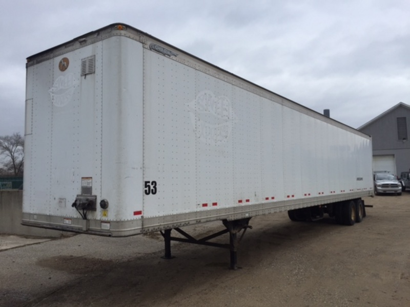 USED 2007 GREAT DANE 53' DRY VAN VAN TRAILER #284437