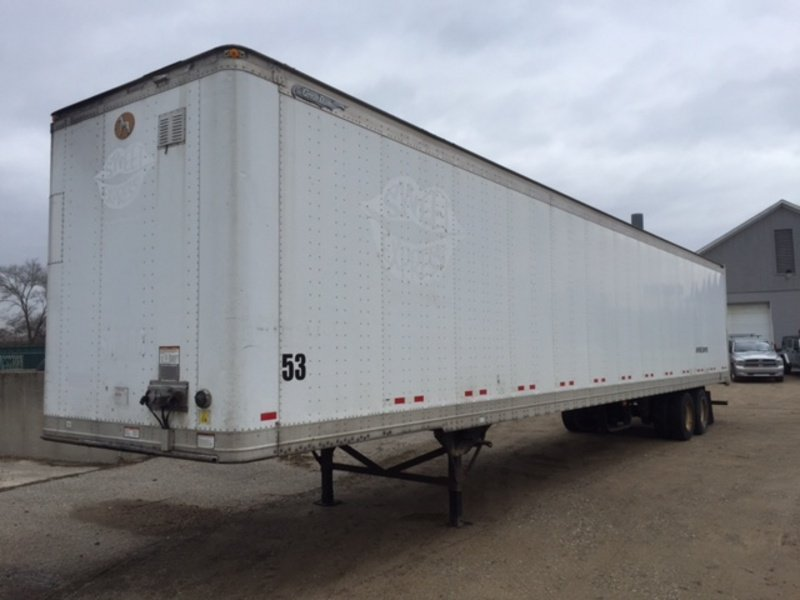USED 2007 GREAT DANE 53' DRY VAN VAN TRAILER #284919
