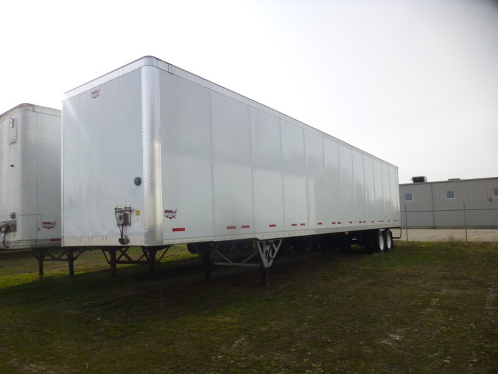 NEW 2018 WABASH DVLSHPC VAN TRAILER #286959