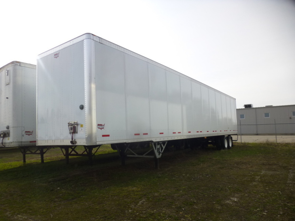 NEW 2018 WABASH DVLSHPC VAN TRAILER #286964