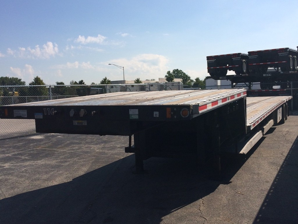 USED 2013 FONTAINE 53X102 DROP DROP DECK TRAILER #287063