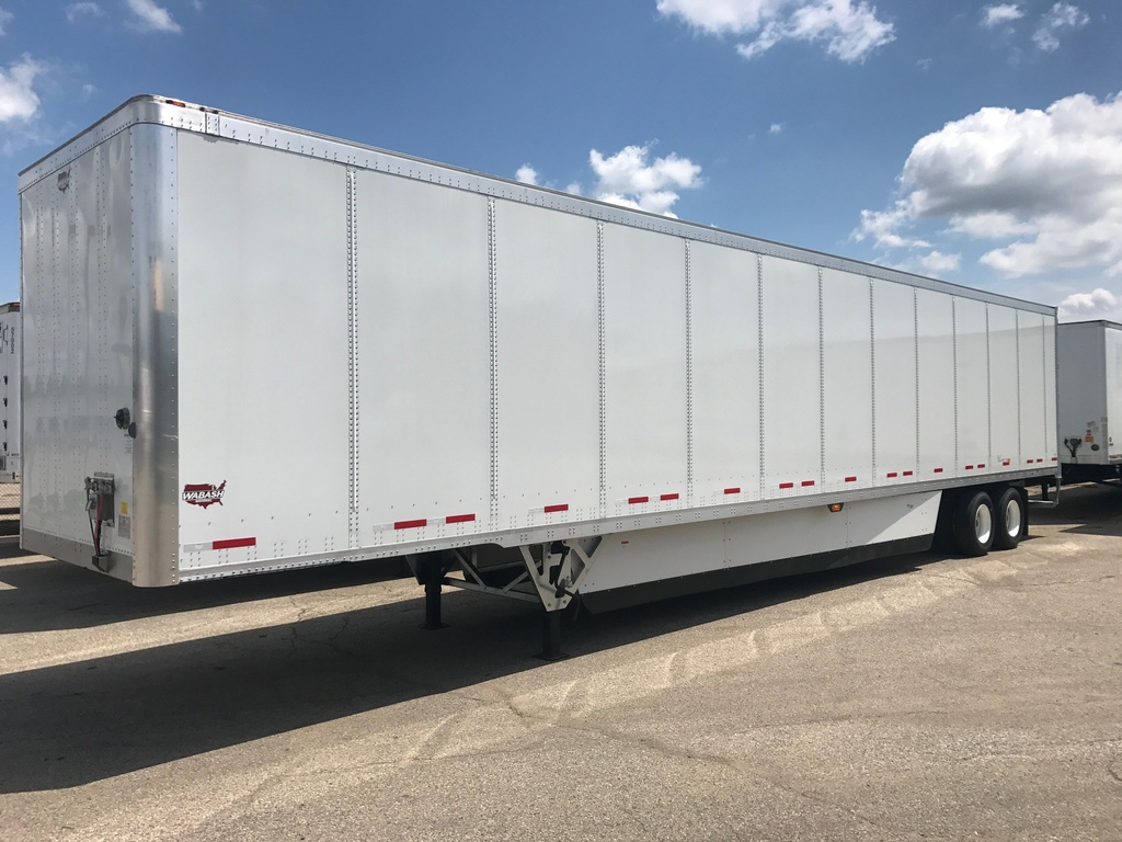 NEW 2019 WABASH 53 TMP DPS VAN TRAILER #288094
