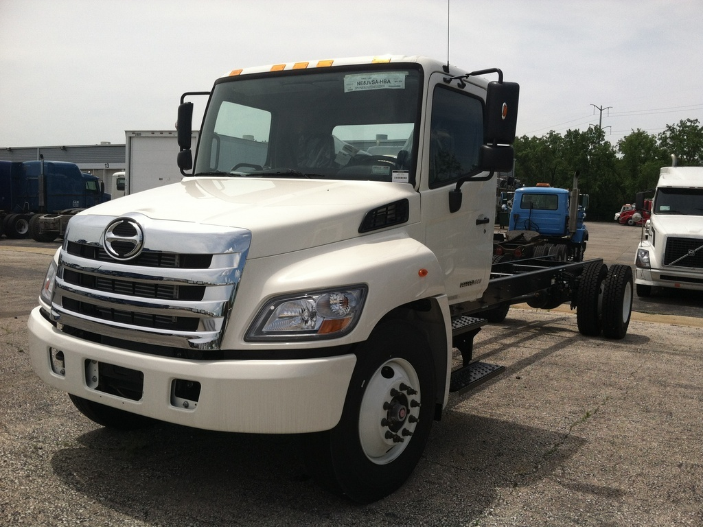NEW 2019 HINO 268 CAB CHASSIS TRUCK #289326