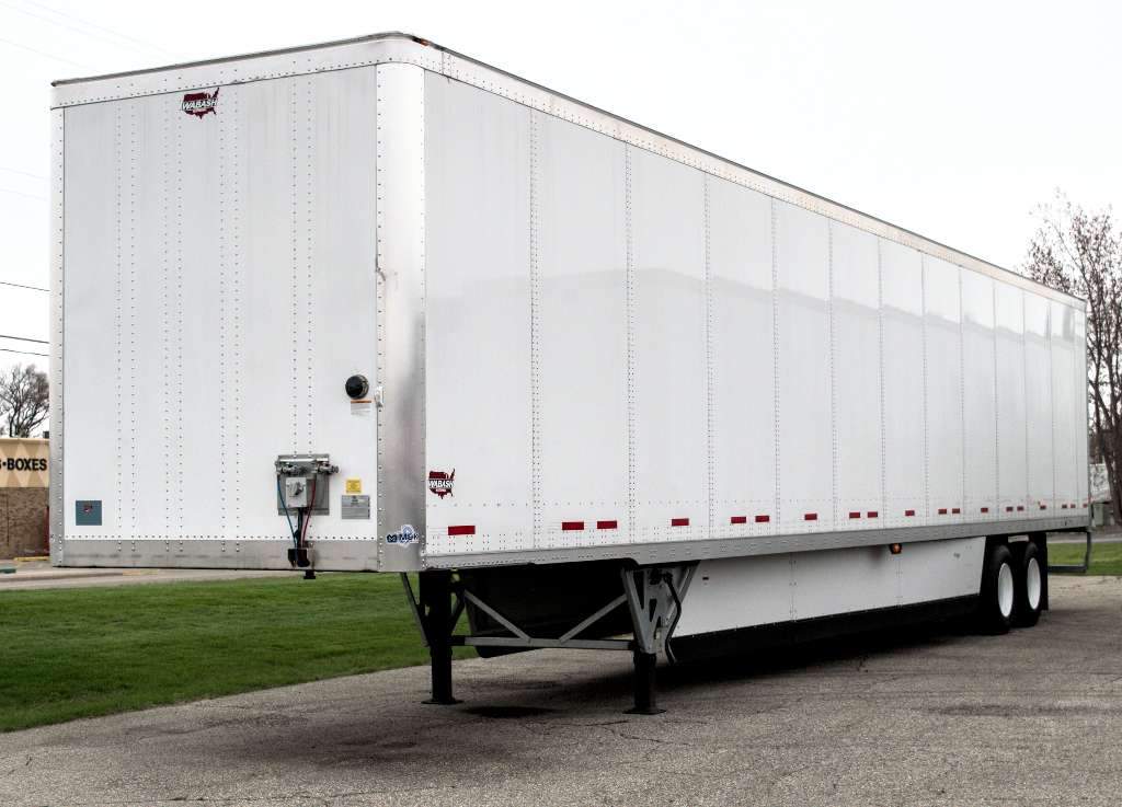 "NEW 2020 WABASH 50"" POSTS VAN TRAILER #289495"
