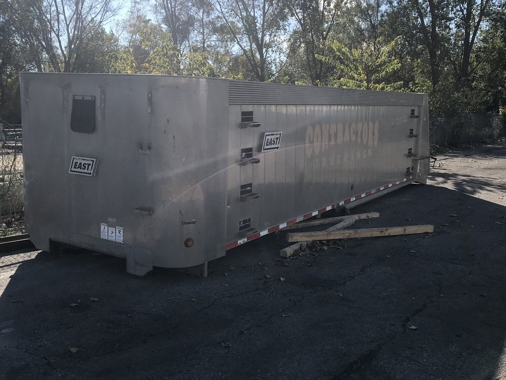 USED 2013 EAST GENESIS END DUMP TRAILER #289652