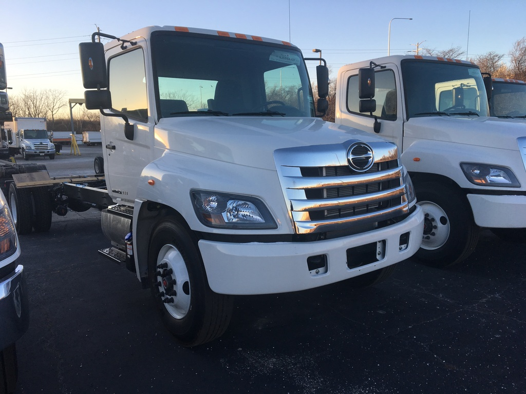 NEW 2019 HINO 268 CAB CHASSIS TRUCK #289763
