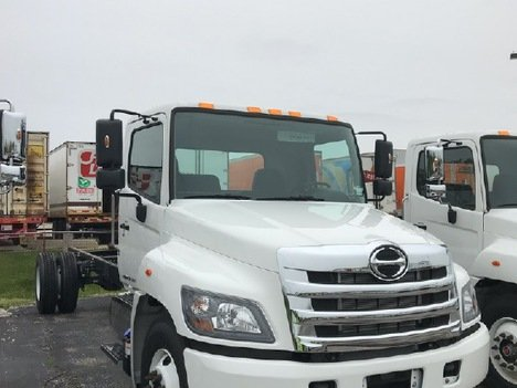 NEW 2019 HINO 268 CAB CHASSIS TRUCK #289763-4