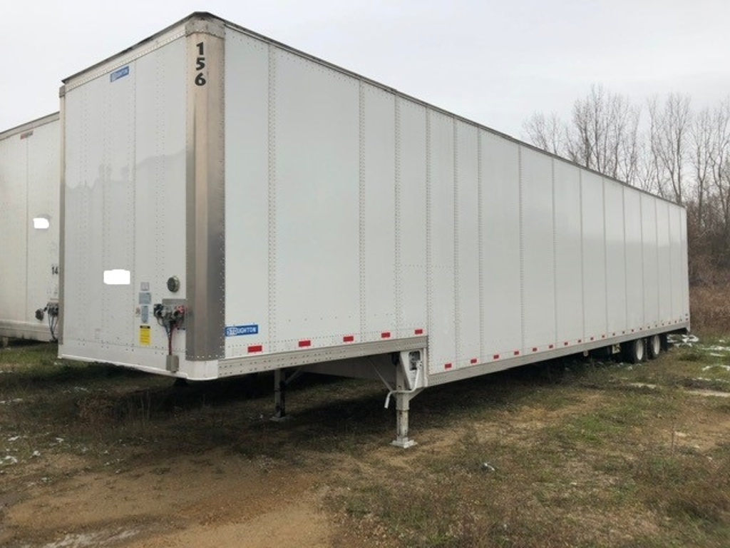 USED 2018 STOUGHTON 53' DROP DECK VAN TRAILER #289824