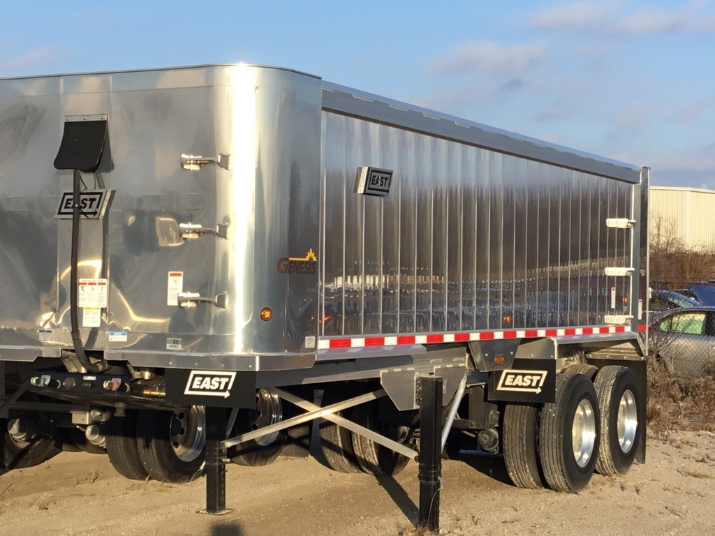 NEW 2019 EAST 22' FRAMELESS DUMP END DUMP TRAILER #137675