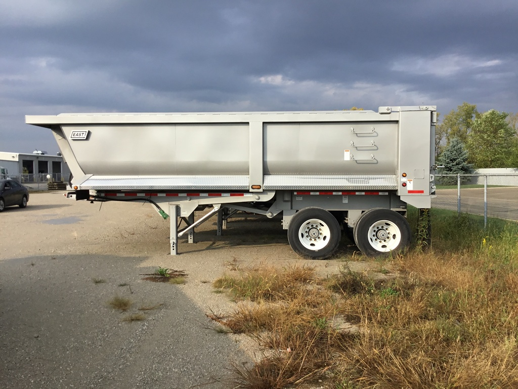 NEW 2018 EAST 24' STEEL 1/4 FRAME END DUMP TRAILER #138245