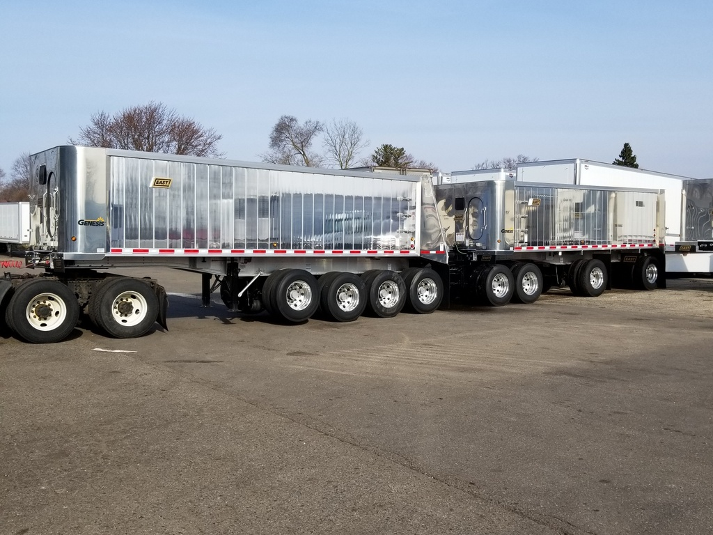NEW 2019 EAST GENESIS SUPER TRAIN END DUMP TRAILER #290093