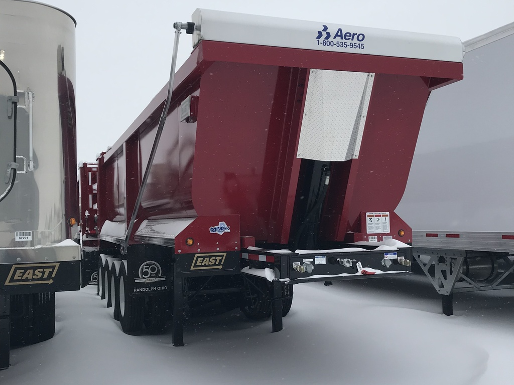 NEW 2019 EAST QUAD DUMP END DUMP TRAILER #290153