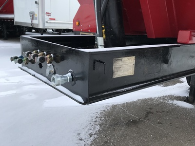 USED 1999 FRUEHAUF MI TRAIN END DUMP TRAILER #290330-10