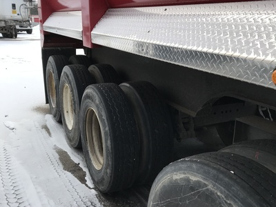 USED 1999 FRUEHAUF MI TRAIN END DUMP TRAILER #290330-5