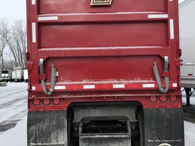 USED 1999 FRUEHAUF MI TRAIN END DUMP TRAILER #290330-8