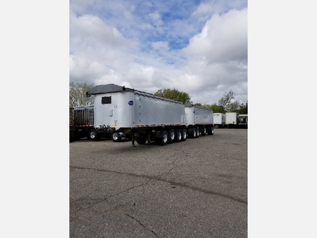 USED 2006 RHODES MI TRAIN END DUMP TRAILER #290906