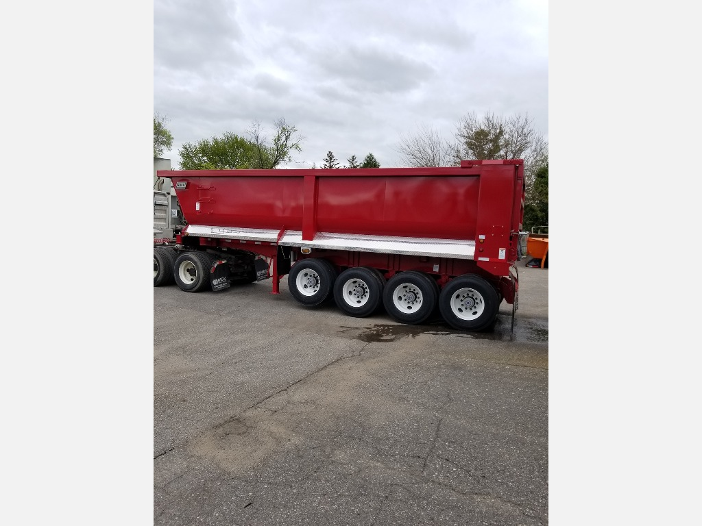 NEW 2020 EAST STEEL QUAD END DUMP TRAILER #291011