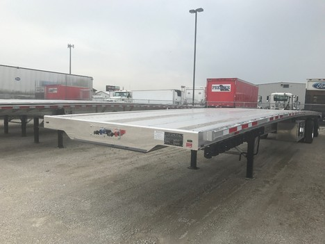 NEW 2020 BENSON 53' REAR AXLE SLDE FLATBED TRAILER #291193-1