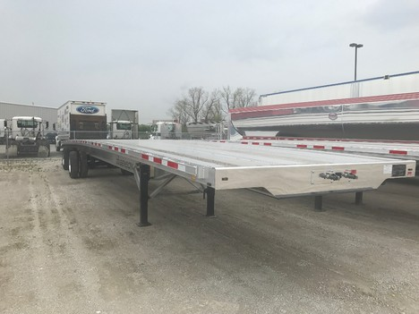 NEW 2020 BENSON 53' REAR AXLE SLDE FLATBED TRAILER #291193-2