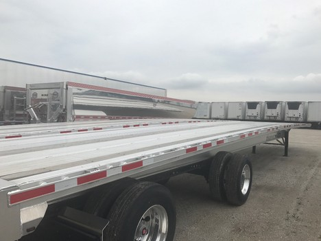 NEW 2020 BENSON 53' REAR AXLE SLDE FLATBED TRAILER #291193-4