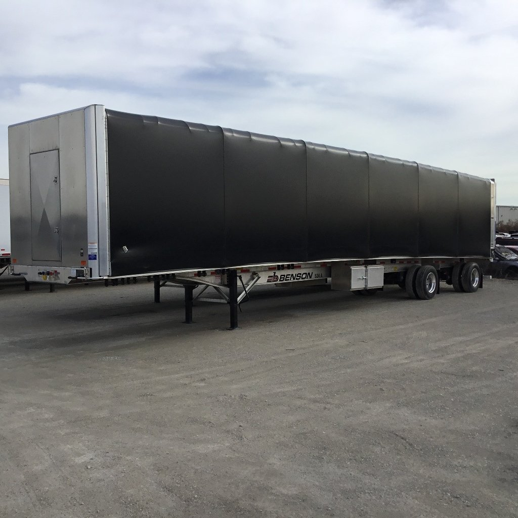 NEW 2020 BENSON 53' CONESTOGA FLATBED TRAILER #291724
