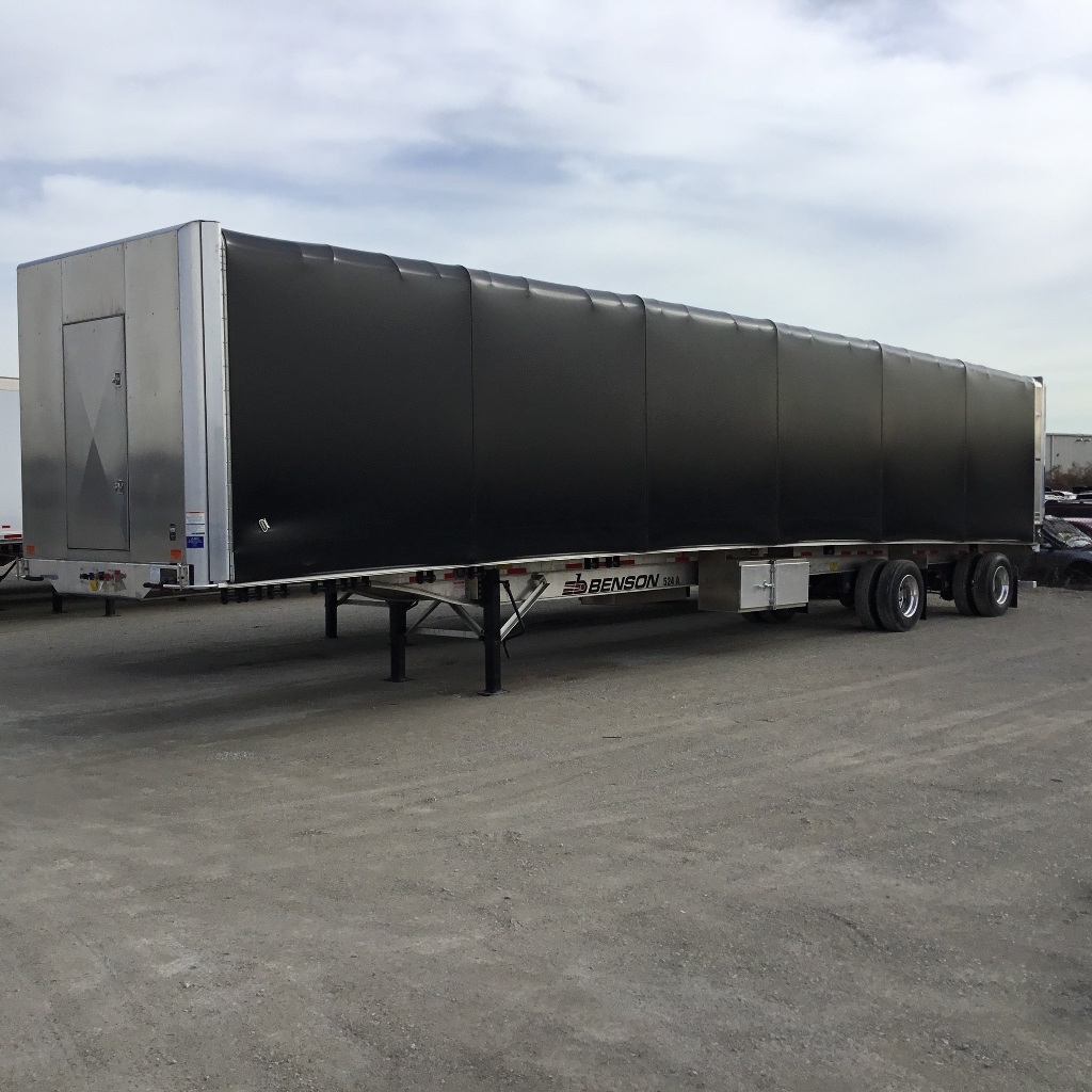 NEW 2020 BENSON 53' CONESTOGA FLATBED TRAILER #291725