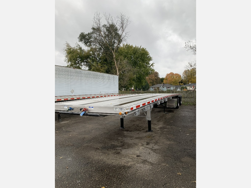 NEW 2020 EAST 53' RAS W/ BOX FLATBED TRAILER #291757