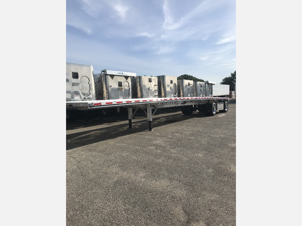 NEW 2020 EAST 48' W/ BOX FLATBED TRAILER #291765