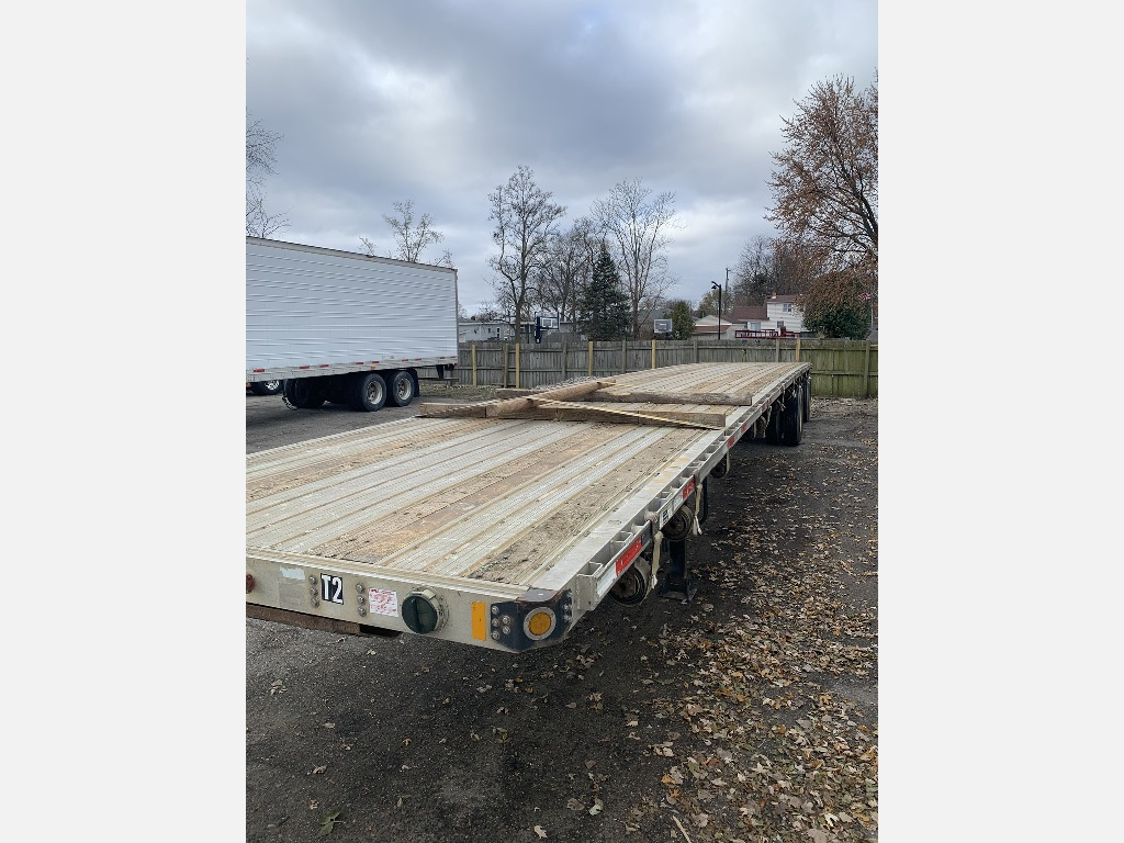 USED 2013 FONTAINE INFINITY FLATBED TRAILER #292241
