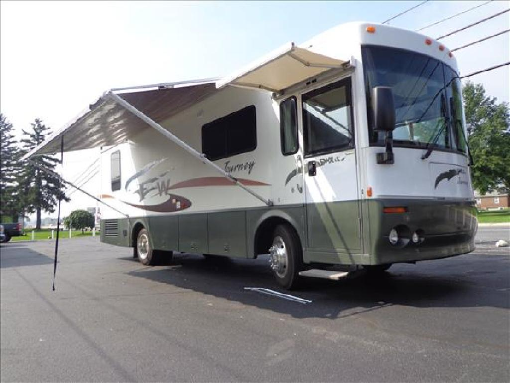 USED 2002 WINNEBAGO JOURNEY 32T CLASS A DIESEL RV #1023