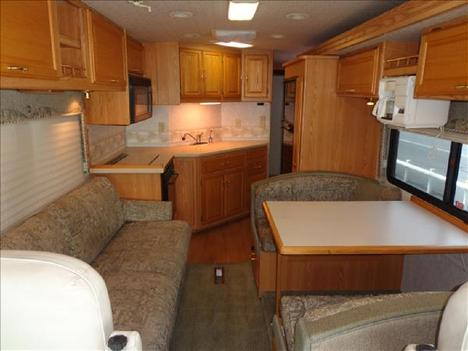USED 2002 WINNEBAGO JOURNEY 32T CLASS A DIESEL RV #1023-17