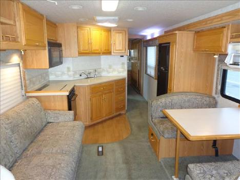 USED 2002 WINNEBAGO JOURNEY 32T CLASS A DIESEL RV #1023-26