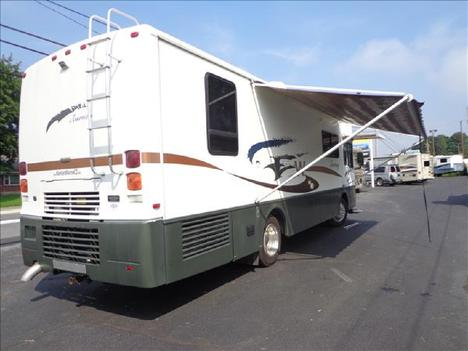 USED 2002 WINNEBAGO JOURNEY 32T CLASS A DIESEL RV #1023-3
