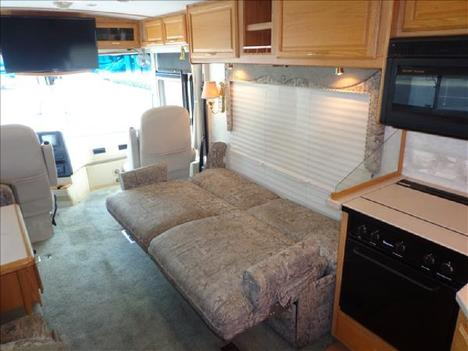 USED 2002 WINNEBAGO JOURNEY 32T CLASS A DIESEL RV #1023-36