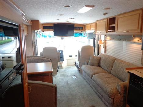 USED 2002 WINNEBAGO JOURNEY 32T CLASS A DIESEL RV #1023-7